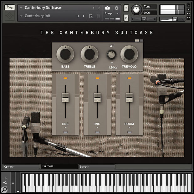 SonicCouture The Canterbury Suitcase Kontakt instrument.