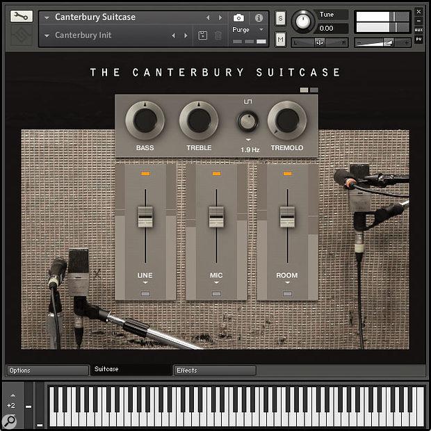 SonicCouture The Canterbury Suitcase Kontakt instrument.