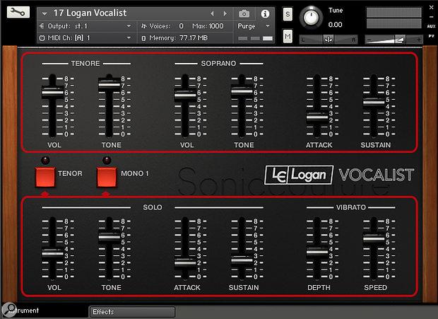 The Logan Vocalist.