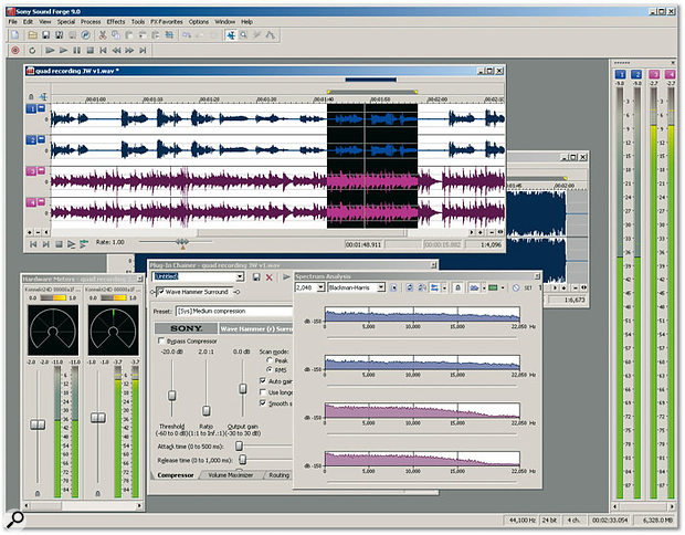 sony sound forge 8.0software