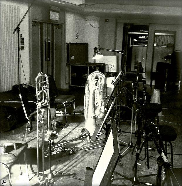 Heavy metal: Albion's low brass ensemble comprises two trombones, bass trombone and tuba.