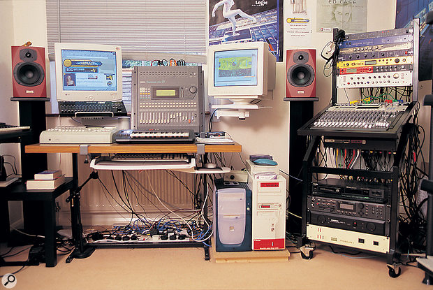 Nowadays, a modest laptop and interface setup can provide more power than even a large rack full of equipment.