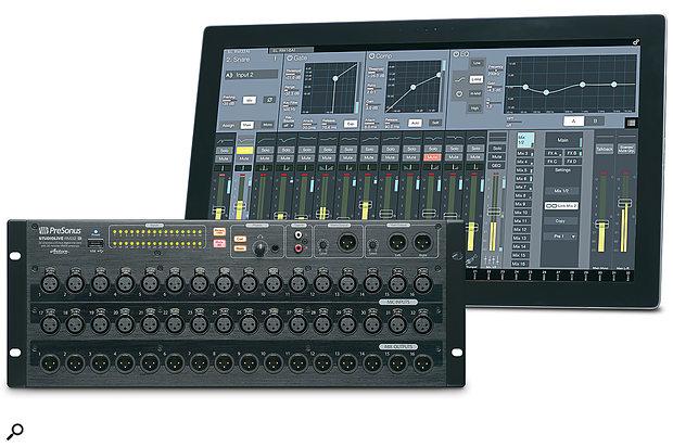 The PreSonus StudioLive RM32AI.