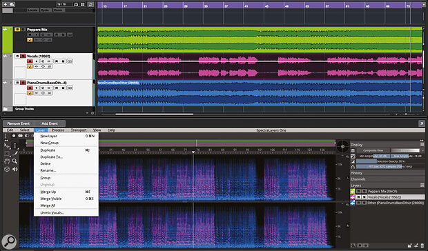 SpectraLayers One adds the magic of vocal unmixing for Pro and Artist users.
