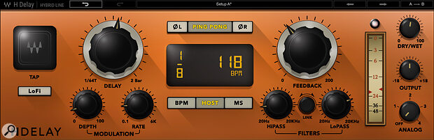 Waves H‑Delay is now also available for Cubasis as part of the Waves plug‑in bundle IAP.
