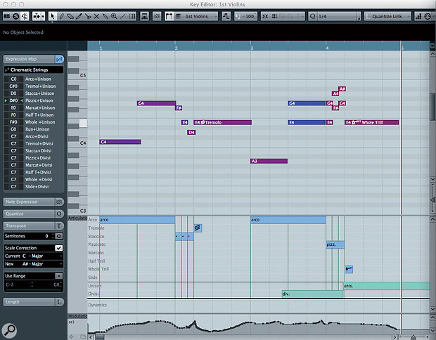 Cubase's VST Expression can be agreat help to composers working with libraries and instruments from different manufacturers.