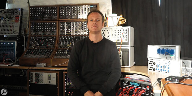 Dom Morley in his studio.