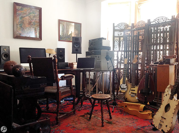 Cyclobe's home studio, where the material was edited and where preliminary mixes took place.