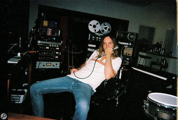 Kevin Parker at his studio near Perth, Australia.