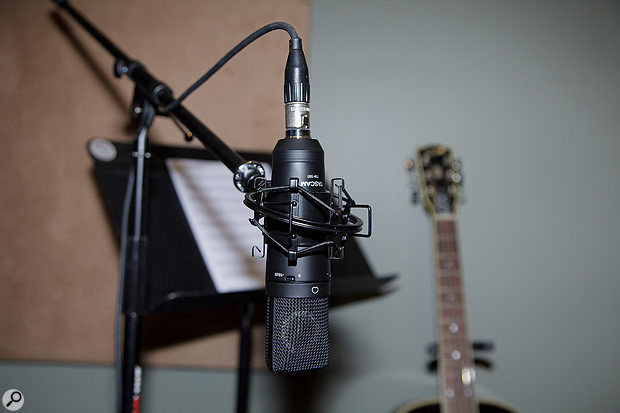 All mics in the TM series come with a range of accessories (the TM-180 is pictured).