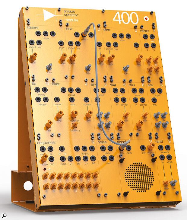 Pocket Operator Modular 400 synthesizer.