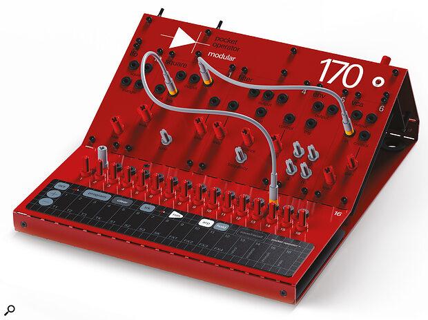 Pocket Operator Modular 170 synthesizer.
