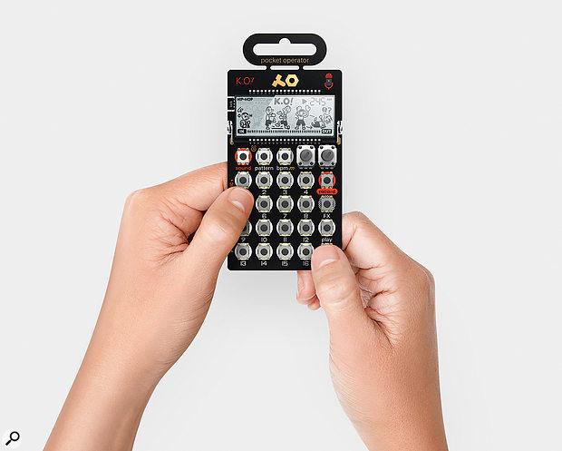 Teenage Engineering Pocket Operator PO-33 KO! & PO-35 Speak
