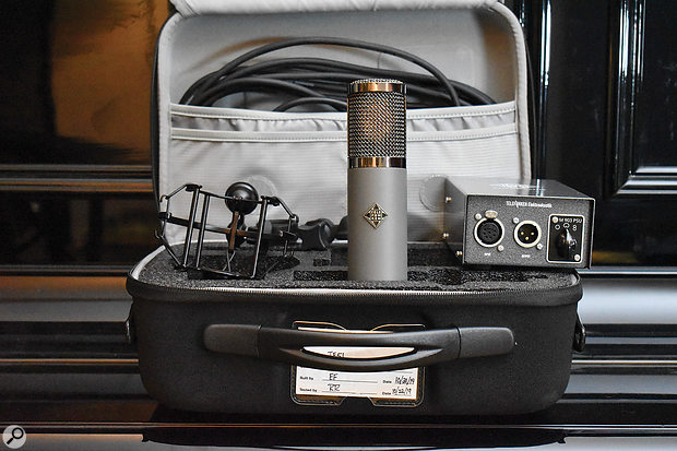 All the Alchemy-series mics ship in padded cases, along with a seven-metre XLR cable, a shockmount, a mic clip and a PSU.