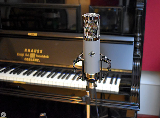 The TF51 on room-mic duty for a piano recording.