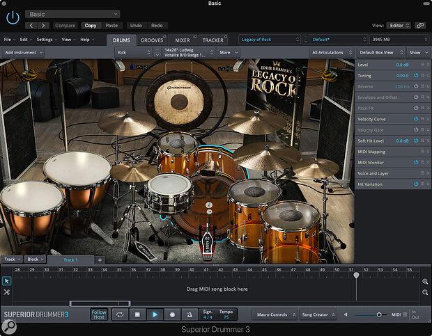 Toontrack Legacy Of Rock SDX & Classic Rock EZX