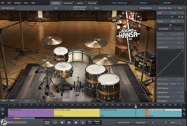 Toontrack The Rooms Of Hansa SDX