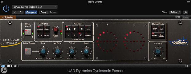 Cyclosonic Panner.
