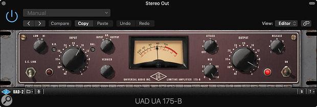 UA 175B plug-in.