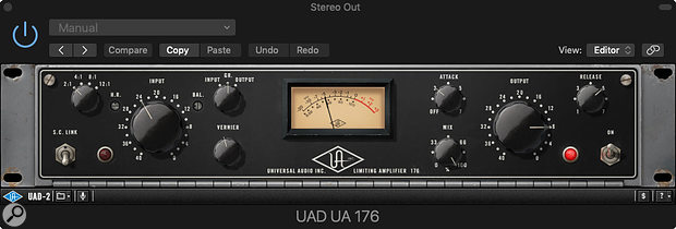 UA 176 plug-in.
