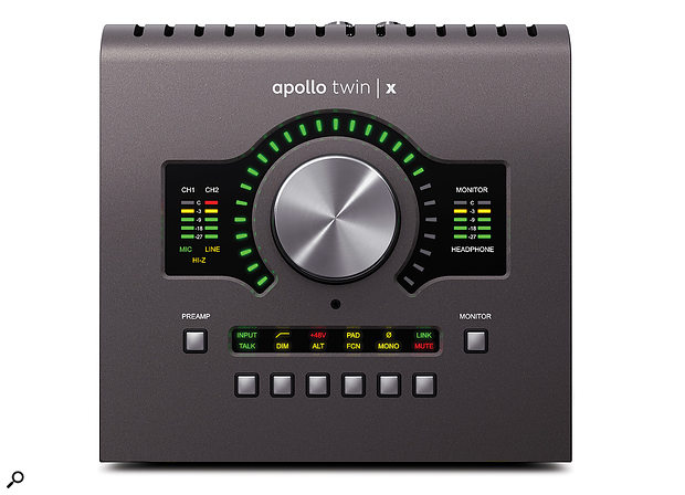 Physically, the Apollo TwinX is exactly the same as the Twin MkII...