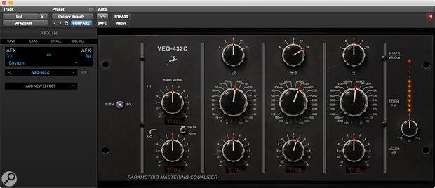 Antelope Audio VEQ-432C