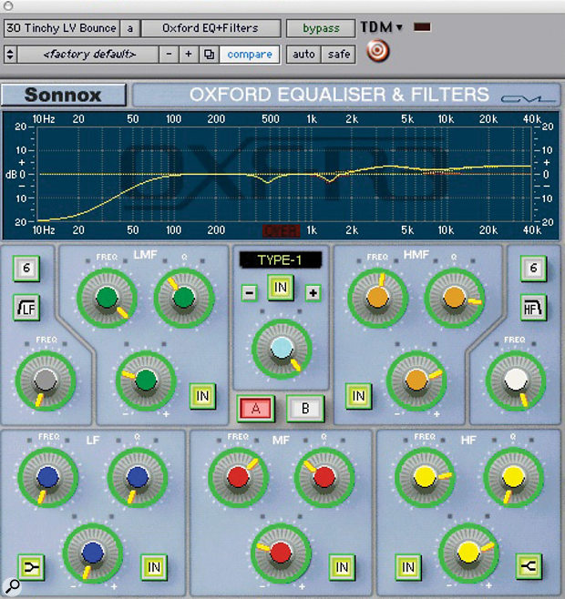 Using EQ to improve nasal vocals.