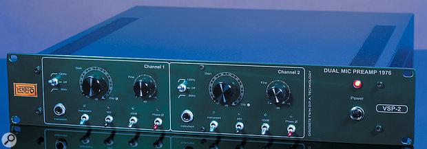 Vertigo Sound VSP2 Dual-channel Microphone Preamplifier