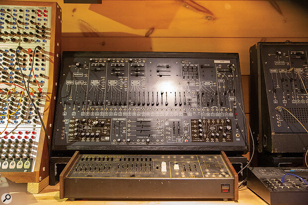 Vince's ARP 2600 and ARP Sequencer, the latter of which was used heavily on Depeche Mode's debut album Speak & Spell.