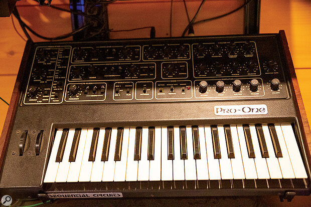 Owned by Vince from new, the Sequential Circuits Pro-One has featured on every Erasure album.