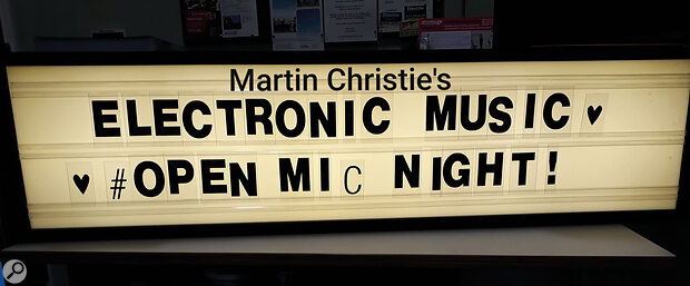Electronic Open Mics