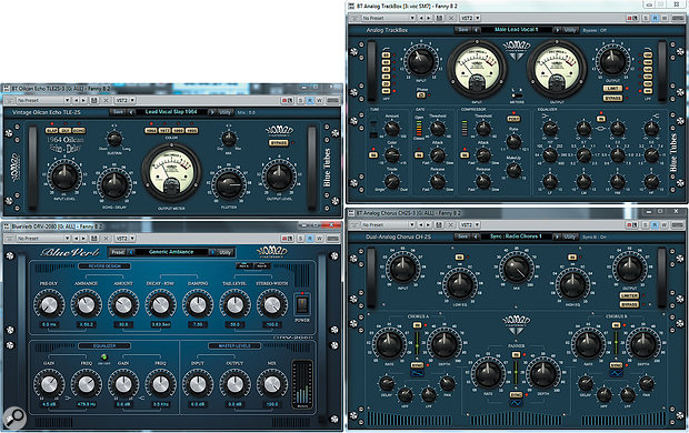The Nomad Factory Blue Tubes FX suite, bundled with X3 Producer and Studio, contains no fewer than 20 plug-ins!