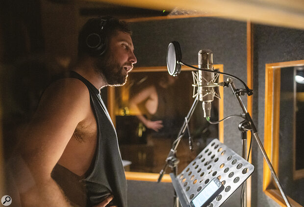 For Josh Franceschi's vocals, Dan Austin hired aTelefunken U47.