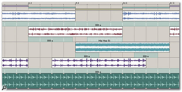 Groove Maps can be applied at the beat/bar level or to whole tracks.