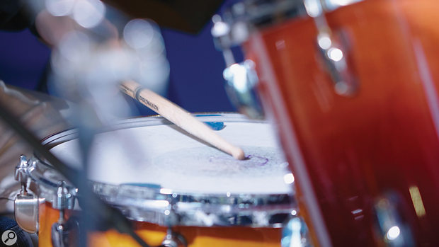 Adrian Bushby Drum Tracking snare drum