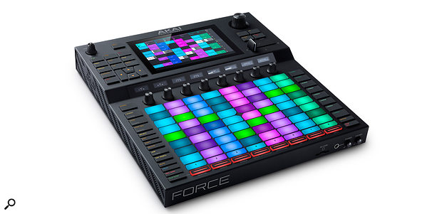 Light my way — Akai's new Force groovebox.