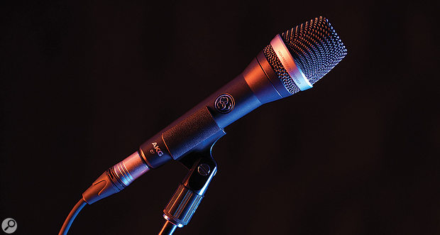 AKG C7 stage microphone.