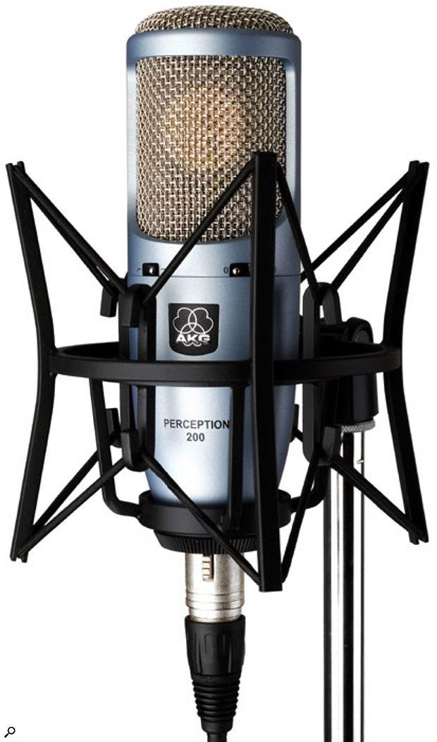 akg perception 200 sound on sound. Black Bedroom Furniture Sets. Home Design Ideas