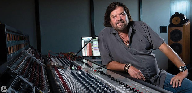 Alan Parsons at his new Parsonics recording facility above Santa Barbara, California, where the new masterclasses will be held.