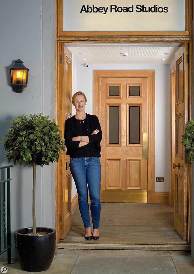 Isabel Garvey is Managing Director of Abbey Road Studios.