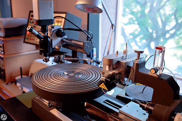Cutting a vinyl master is a specialised skill which is currently off the table for automated services.