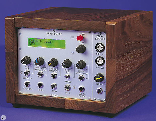 RS290 Sampler/Delay and optional RS295 expander module.