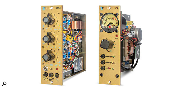 The two new limited-edition 50th anniversary modules from API.