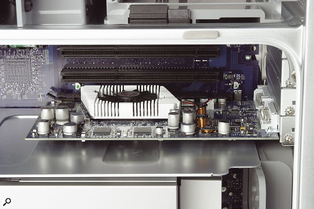 Both the dual 1.8GHz and dual 2GHz G5 machines feature PCI-X slots rather than old-style PCI slots, and all three machines support only 3.3V PCI cards.
