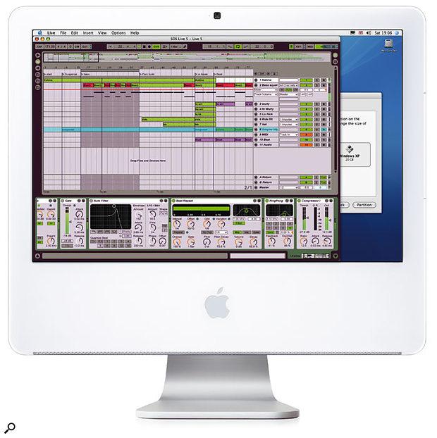 Apple Core Duo iMac