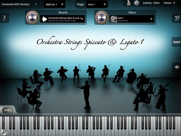 Crudebyte iSymphonic Orchestra