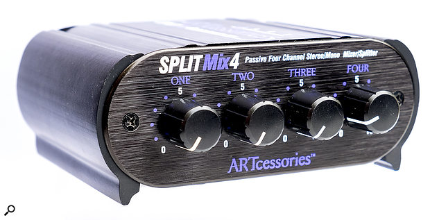 ART SPLITMix4 Four-channel Passive Splitter/Mixer