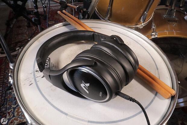 Audix A150 headphones.