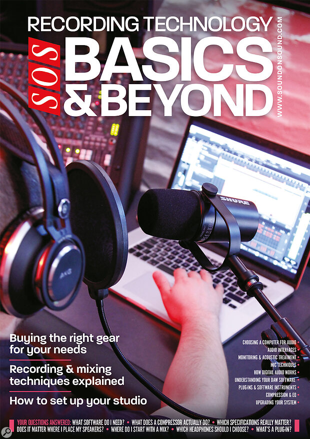 RECORDING TECHNOLOGY: Basics & Beyond 2021 front cover