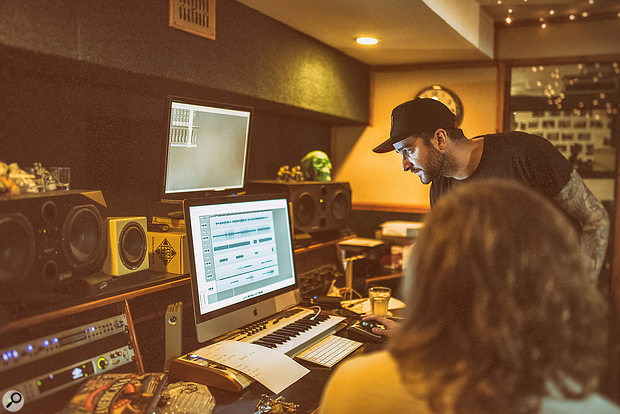 Mark Crew has engineered and co-produced both Bastille albums in his South London basement studio.